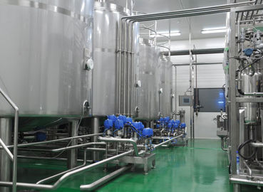 China Split Type Full Automatic CIP Cleaning  System 10TPH SUS304 Producttion Line Washer supplier
