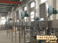 SUS304 Frame Automatic Bottle Conveyor Systems High Efficiency With Adjustable Foot