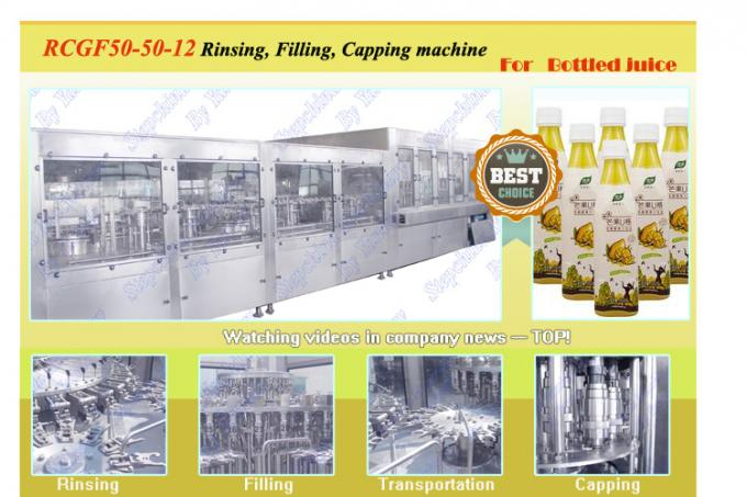 Customized Full Auto juice filling machine stainless steel 304