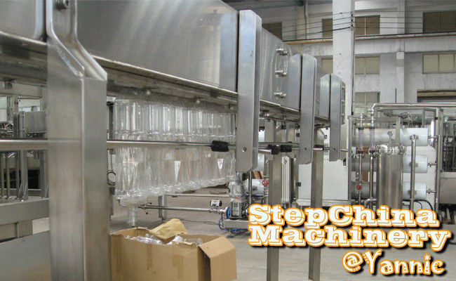 PET Bottle / Empty Bottle Automated Conveyor System With Air Fan 380V 50Hz 3 Phase