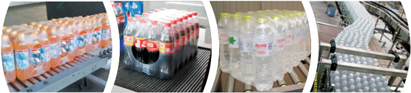 25-30pcs/min Drinking Mineral Water Bottle Packing Machine / Film Shrinking Equipment