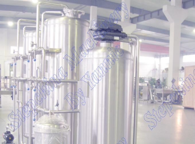 Automatic Control Pure Drinking Water Treatment Equipments / Plant Water Softener