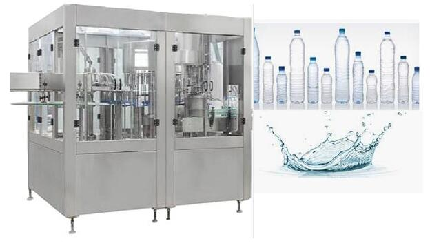 Automatic Pet Industrial Water Bottling Plant Machinery For Drinking