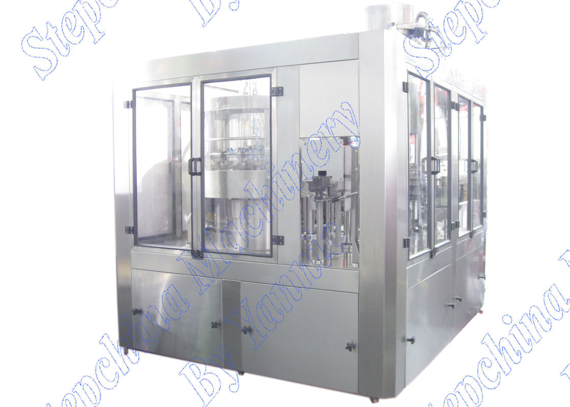 SUS304 Material Automatic Bottle Filling Machine 380V 50HZ Three Phase Power