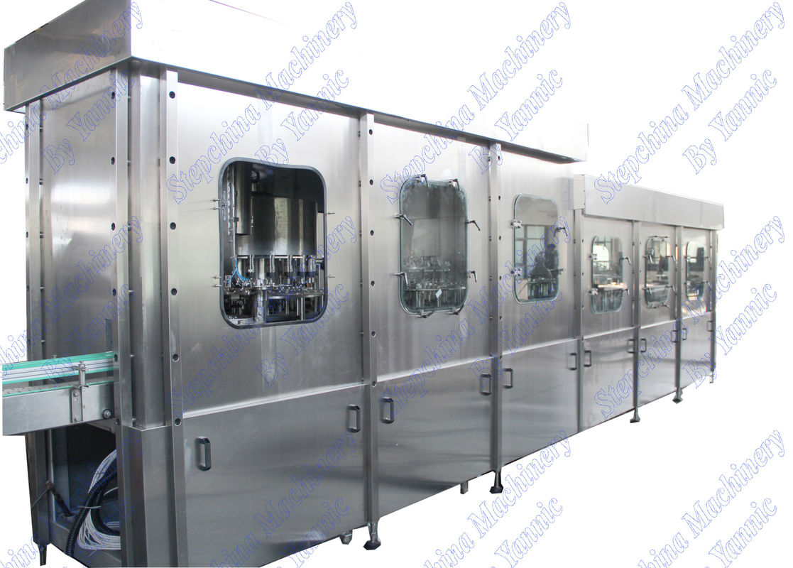 High Capacity PET Bottle Filling Machine CGF32-32-8 PLC Automatic Control