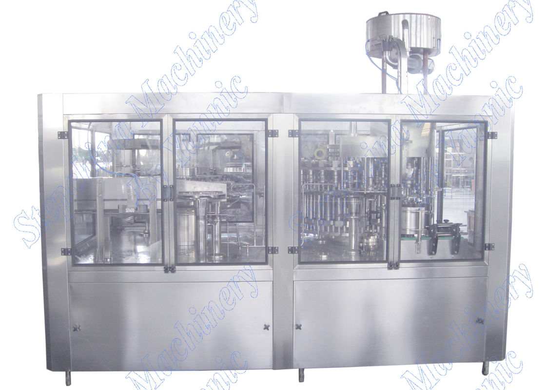 3 KW Total Power Pure Water Filling Machine Stainless Steel 304 Material