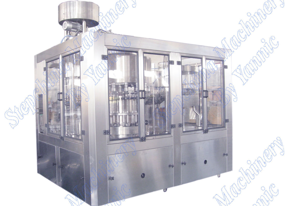 High Efficient Pure Mineral Water Filling Machine With Plastic Screw Cap