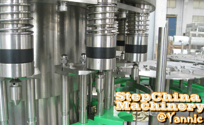 Stainless Steel Automatic Bottle Filling Machine With 12 Filling Heads