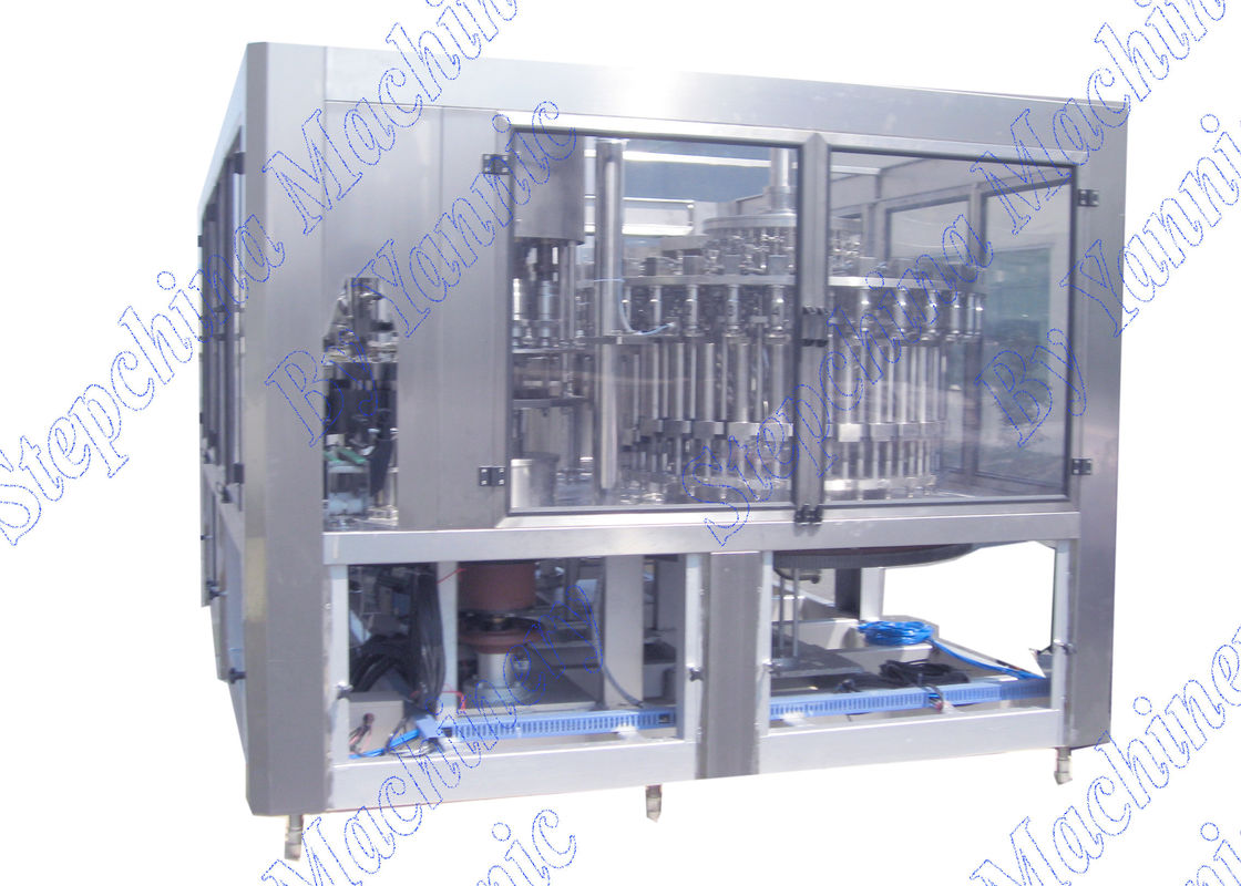 Convenient Operation Hot Filling Machine For Bottled Juice Production