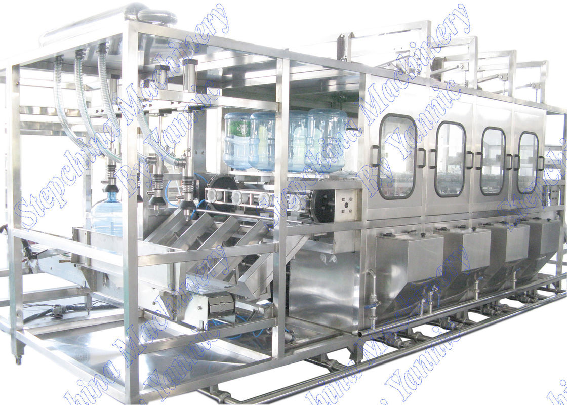High Efficiency PET Bottle Filling Machine , Drinking Water Bottle Plant