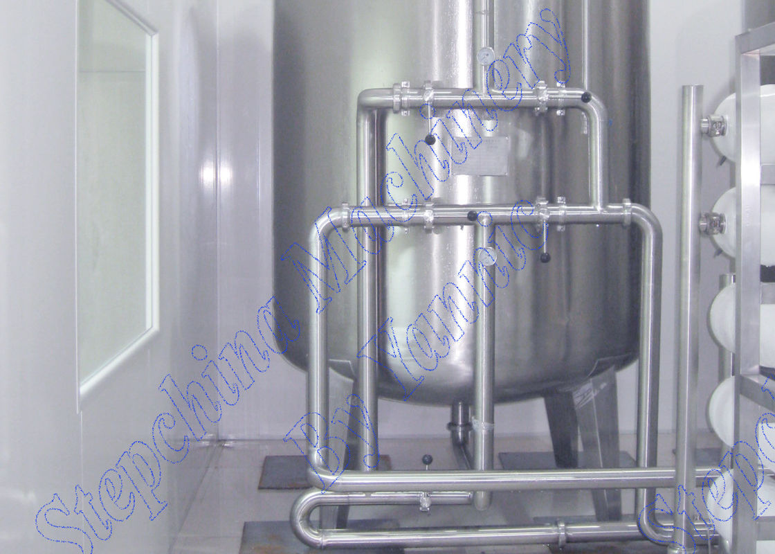 Automatic Control Purified Water Treatment Equipments / Plant Water Softener