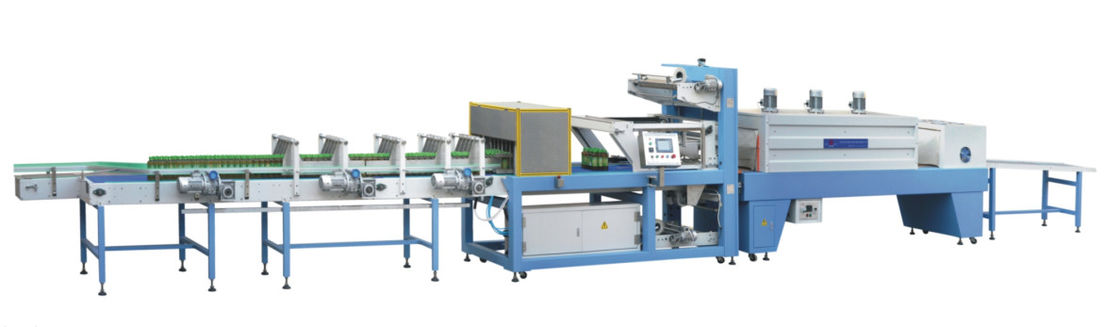 Shrink Wrap Plastic Film Packing Machine / Shrink Packing Machine High Speed