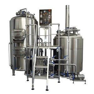 Silver 100L  200L 20BBL Beer Brewhouse Saccharification Tank , 2-6mm Thick