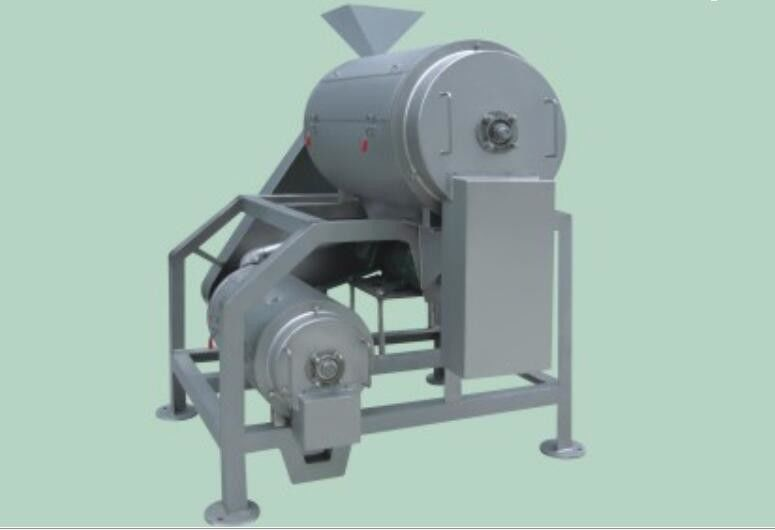1 Ton - 20 Ton Double Stage Pulping Machine Fruit And Vegetable Processing Equipment