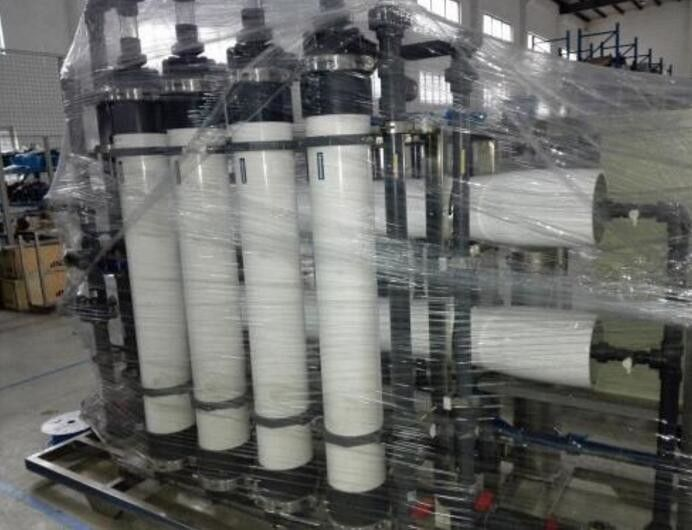 Water Treatment Systems 10 Ton Ultrafiltration System Mineral Water Production