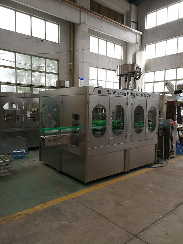 High Speed Automatic Drinking Water Producing Pet Bottling Filling Machine Line