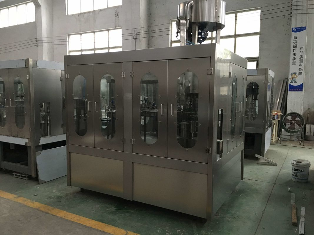 Complete Automatic Water Pet Bottle CGF14-12-5 Rinsing Filling And Capping Machine / Plant