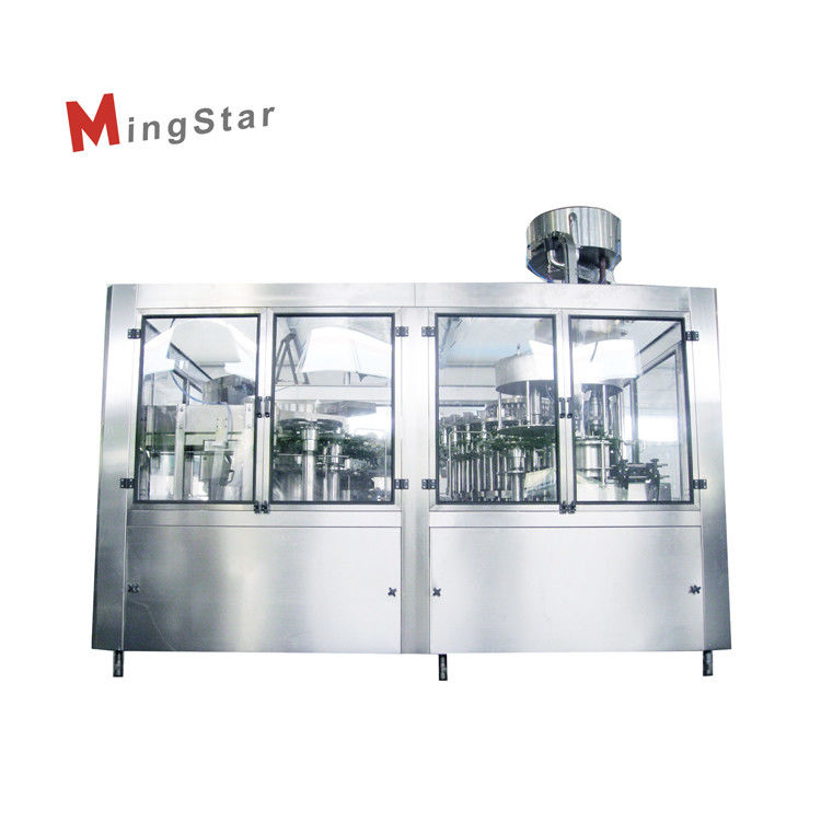 Low Investment Spirit Bottling Machine For Glass Bottled , Rinsing Filling Capping Machine