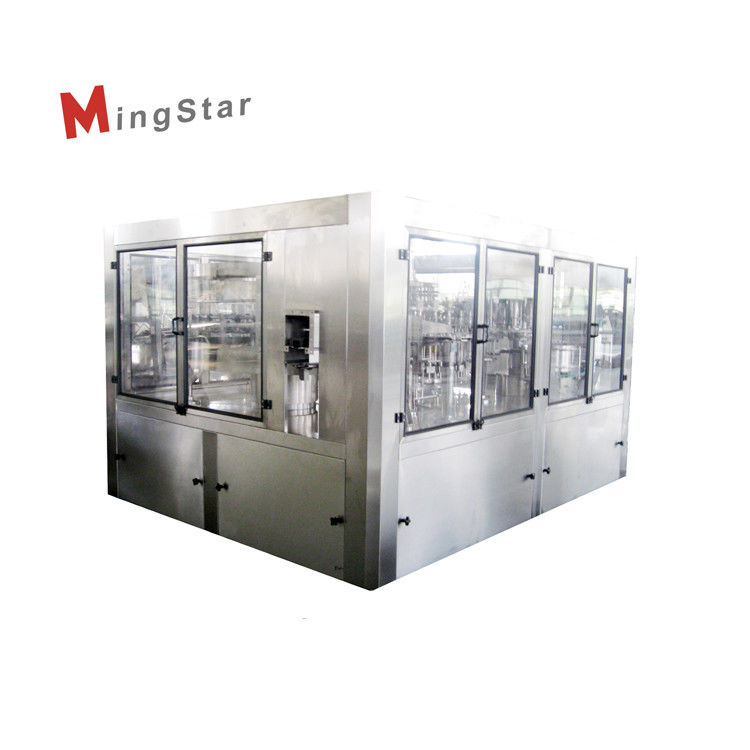Nut / Sunflower / Oliver Edible Oil Automatic Filling Machine 4000BPH High Capacity
