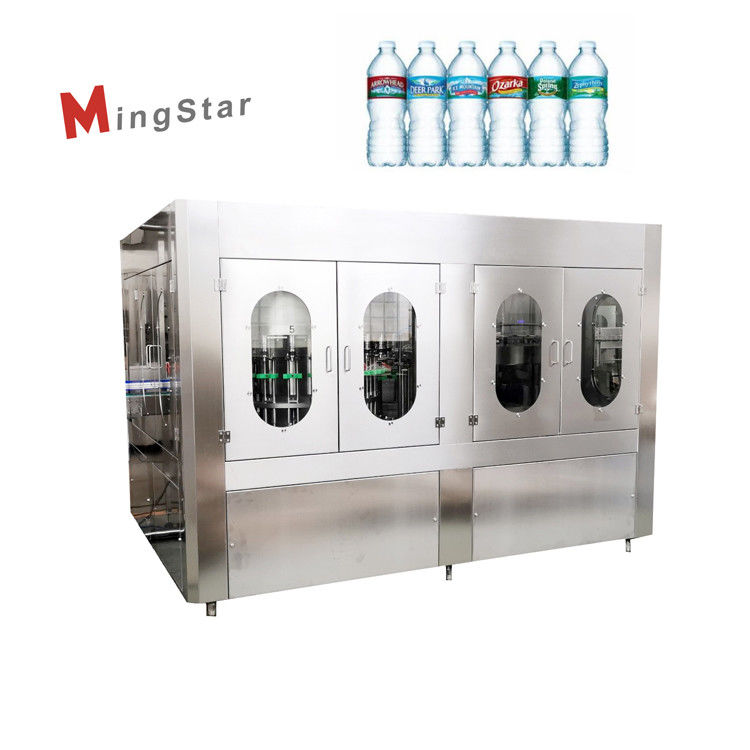Automatic Industrial Plastic Bottle Filling And Sealing Machine For Drinking Water