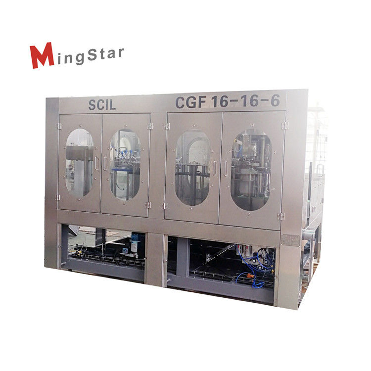 Full Automatic PLC Control Edible Oil Filling Machine For Sunflower Oil