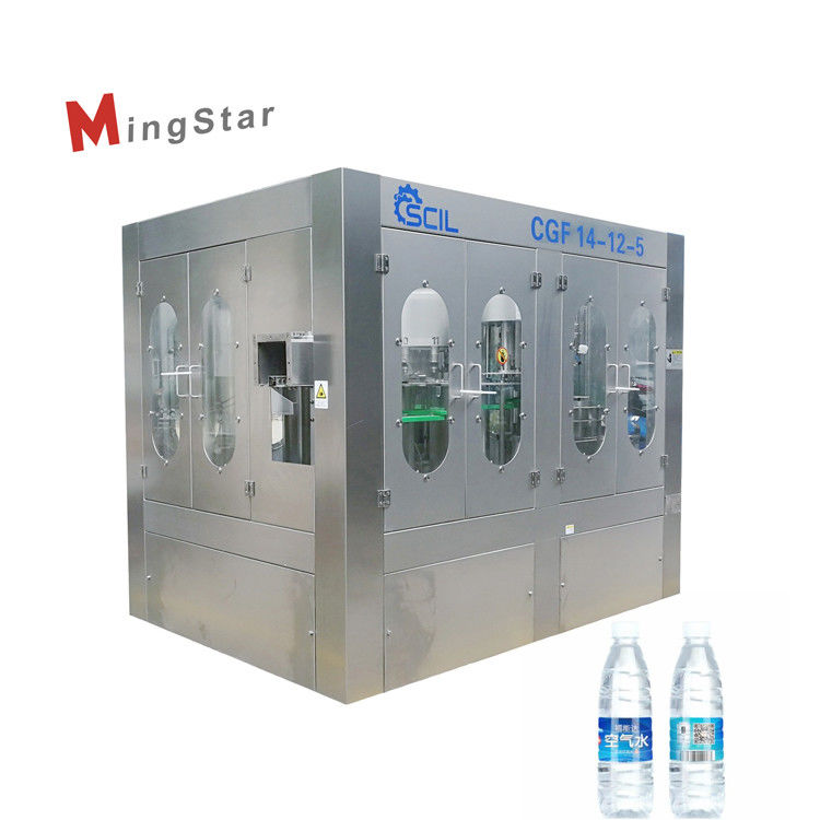 Automatic High Performance Mineral Water Bottle Plant Fast Processing Speed