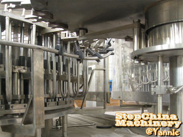 50 Heads Rinsing Water Filling Machine For Bottled Drinking Water Production