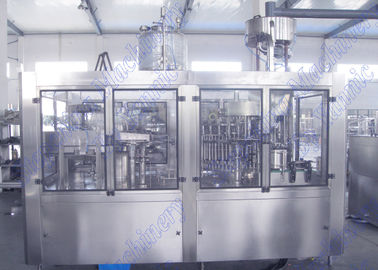 Bottled Orange Juice Filling Machine With 32 Hot Filling Heads And Screw Cap