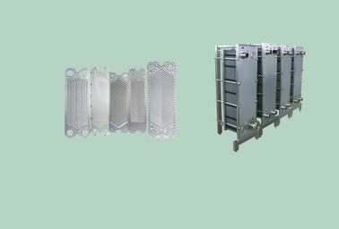 SUS304 Hot Water Heater Plate Type Heat Exchanger Fruit And Vegetable Processing Equipment