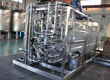 Milk Heating Dairy Processing Equipment 137-142℃ UHT Tubular Pasteurizer 8TPH
