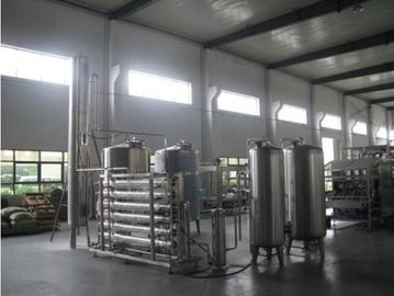 Reverse Osmosis Water Treatment Equipment 4000 Liters 2 Stages Borehole Water Purifier