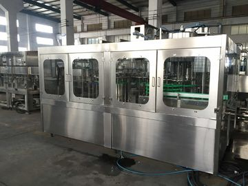 Stainless Steel Automatic Bottle Filling Machine Water Bottle Rinsing Filling And Capping Machine
