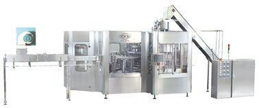 High quality Automatic PET Bottle rinsing filling capping  Carbonated Drinks Filling Machine