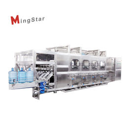 High Speed 5 Gallon Water Filling Machine , Bottle Filling Equipment 300BPH Capacity