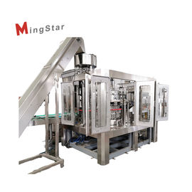 Energy Saving Edible Oil Filling Machine For 5L Bottle , SUS 304 Or SUS 316L