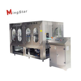 SUS304 Stainless Steel Sunflower Cooking Oil Filling Machine For Plastic Bottle
