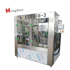 High Efficiency Mineral Water Plant , Stable Pet Bottle Filling Machine