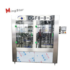 500Ml Pet Plastic Bottle Filler Machine High Performance Turnkey Project