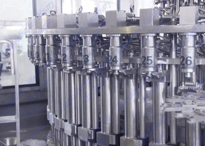 Customized Full Auto Juice Filling Machine Stainless Steel 304 Material