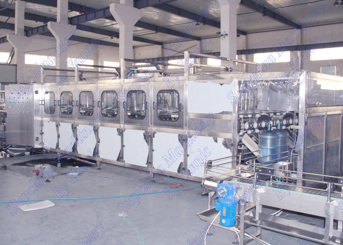 High Speed 5 Gallon Water Filling Machine / Bottled Water Production Line