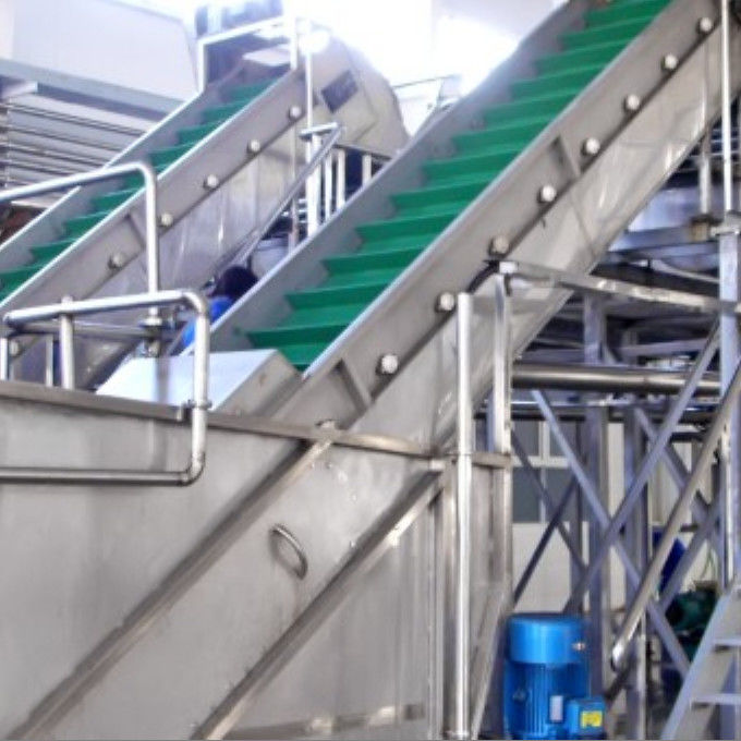 Carbon Steel Clapboard Elevator Fruit And Vegetable Processing Equipment 6Ton / Hour