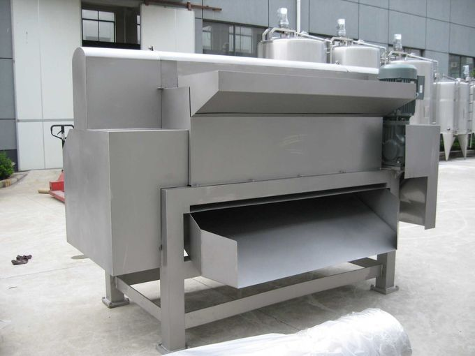 Peach Apricot Stones Fruit Destoner Fruits Juice Processing Lines SUS304
