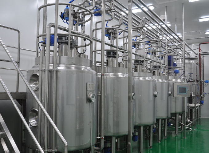 18TPH Tea Drinks Turnkey Project Stainless Steel SUS304 316L Beverage Processing Line